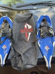 """Redfeather Youth Kids Snowshoes 22""""Aluminum V Tail Crampon Covers $60.00"""