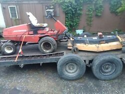 Commercial Lawn Mower Jacobsen Turf Cat C420G with 6ft Mower Deck $1500.00