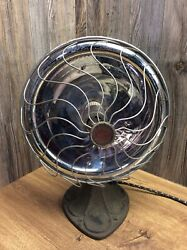 Antique Dominion Radiant Heater With Cast Iron Base Victorian Works K5F $48.99