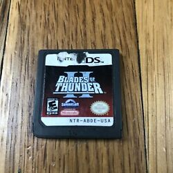 DS Blades of Thunder 2 II Nintendo DS Attack Chopper Helicopter Game $8.99