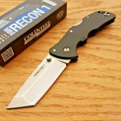 Cold Steel Mini Recon Folding Knife 3quot; AUS 10A Steel Tanto Blade GRN Handle $50.29