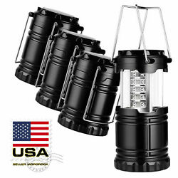 4X Collapsible LED Lanterns Tac Light Emergency Outdoor Hiking Camping Lamps $21.95