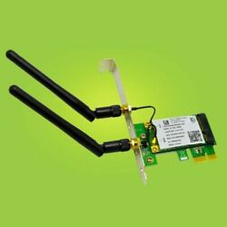 Wireless WiFi PCI E Card 2030Mbps 2.4G 5G Dual Band Network Adapter For Desktop $11.99