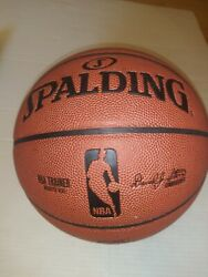 Spalding TF Trainer Weighted Trainer Ball 3lbs 29.5 Composite Leather EUC nba $29.00