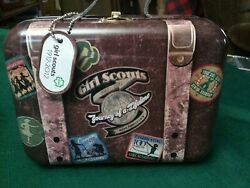 2012 Girl Scout Mini Suit Case Tin Tote $15.00