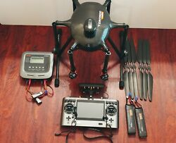 Yuneec H920 Drone no camera or gimbal Aluminum Cases $1399.00
