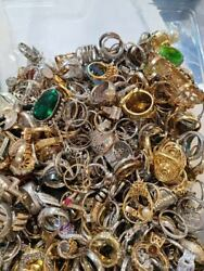 Antiques Vintage amp; Modern COCKTAIL WOMEN OR LADIES Rings Lot Wearable Resellabl $100.00