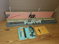 Maruyama Knitting Machine Japan VINTAGE WITH MANUAL AND ACCESSORIES $199.99
