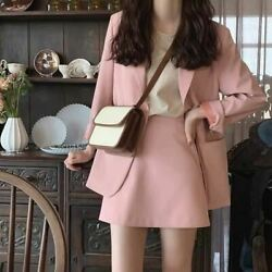 Ladies Skirt Suits Women Single breasted Jacket amp; Pencil Skirt Suits Office Wear $60.38