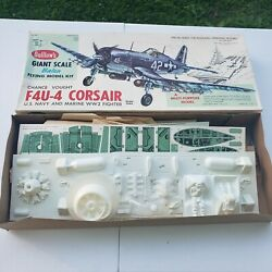 Vought F4U 4 Corsair Guillows Balsa kit Rc airplane kit 1004 See Pictures $58.99
