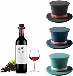 Novelty Wine Stoppers Wine Bottle Stopper Silicone Red Wine Stopper NEW $17.80