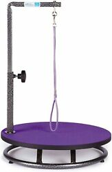 Master Equipment Small Pet Grooming Table Purple Tables Dog Supplies $35.99
