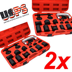 2PCS PRESS TRUCK CAR BALL JOINT NICE DELUXE SET SERVICE KIT REMOVER INSTALLER $199.99