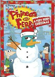 Phineas and Ferb: A Very Perry Christmas DVD $4.29