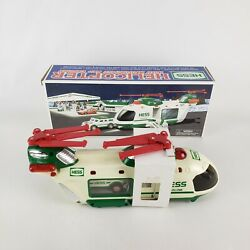 2001 HESS Truck Helicopter With Motorcycle And Cruiser never used $34.99