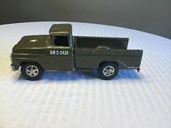 Vintage Tonka Army Pick Up Truck GR2 2431 Early 1960's $89.95
