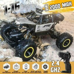 NEW Electric RC Cars 4WD Monster Truck Off Road Vehicle Remote Control Crawler $25.99