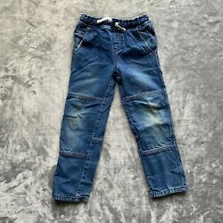 Mini Boden Kids Star Lined Jeans Size 7Y $22.00