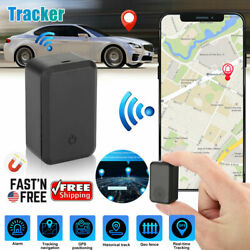Magnetic Mini Car GPS Tracker Real Time Tracking Vehicle Locator LBS GPRS Device $15.98