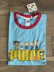 Puma Nickelodeon Rugrats Shirt L Limited Edit New With Tags $75.00