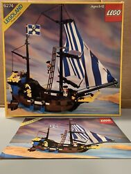 Vintage LEGO Pirates Caribbean Clipper 6274 100% complete w instructions box $259.00