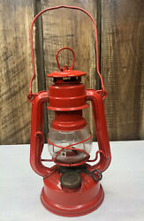 Feuerhand No.175 Small Oil Lantern Red Color Made in W.Germany $99.99