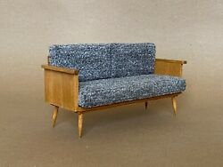 1 6 scale Couch Sofa Mid Century Modernfor Fashion doll Blythe Barbie Momoko $69.00