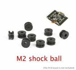 30PCS M2 Rubber Shock Absorbing Ball For FPV RC Quadcopter Flight Controller Dsh C $16.30