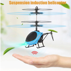 Kids Toys Mini Drone RC Flying Helicopter Aircraft with Remote Control Suspensio $9.99