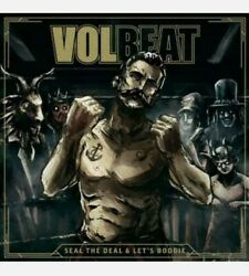 VOLBEAT LP Seal the Deal amp; Let#x27;s Boogie Sealed New VINYL w download code 2LP $23.90