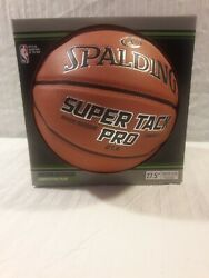 Spalding NBA 27.5 Super Tack Pro Composite Leather Indoor Outdoor Basketball $15.99