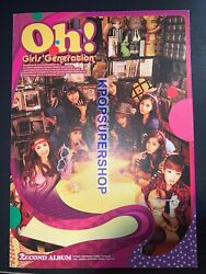 Girls#x27; Generation 2nd Album Oh CD Paper Tab Tears Rare OOP No Photocard $19.90