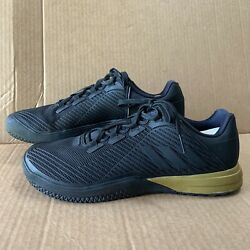 Adidas Crazy Power Trainer Training Mens Sneakers Shoes Size 13 Black Gold $29.99