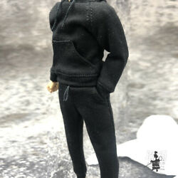1 12 Hoodie Pants Trousers Clothes Set Fit 6#x27;#x27; SHF Mfex Male Action Figure Toy $24.43