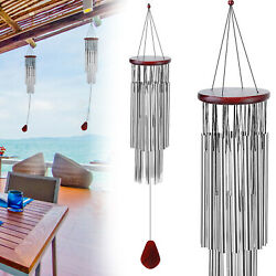 Wind Chimes Outdoor Large Deep Tone 36 Inches Memorial Wind Chimes with 27 Tubes $14.74