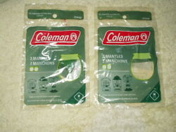 coleman mantles string tie 2 sealed bags with 2 in each 4 total # 21a102 $11.11