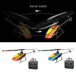 4CH Mini RC 6 Axis Flybarless Remote Control Helicopter Toys for Kids Adults $47.68