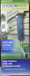HydroFeed 32 oz. In Line Auto Mix Fertilizer Injector System Lawn Care NEW $29.99
