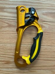 Petzl ASCENSION Right Handed Rope Clamp Gold $82.00