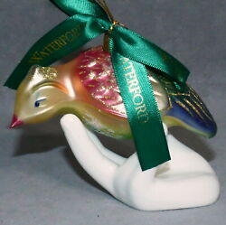 Christmas Ornament WATERFORD HEIRLOOMS 12 DAYS PARTRIDGE 1st in Series Box $99.89