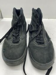 Vans Mens Size 7 Womens Size 8.5 Camo High Top Black Green Shoes NWT $30.00