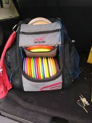 Red Feather Disc Golf Backpack amp; Rainfly $70.00
