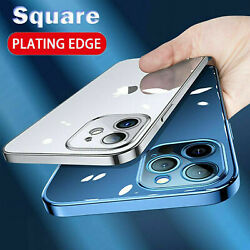 For iPhone 11 Pro Max XS XR 8 Plus 7 Clear Case Soft Shockproof Crystal Cover $1.99