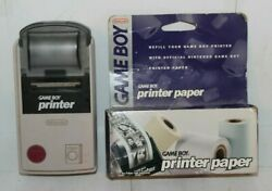 Used Nintendo Game Boy Printer For Parts or Repair with Printer Paper AS IS $27.99