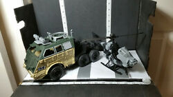 Chap Mei China Military Toy Helicopter amp; S1 Semi Armored Truck USED Missing Pcs. $19.99