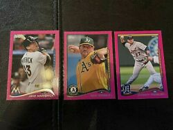 2014 Topps Mini Pink Parallel Cards $4.99