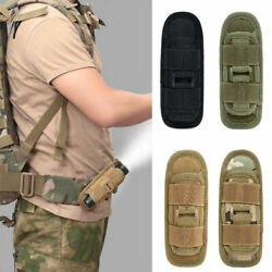 Tactical LED Flashlight Holster with 360Degrees Rotatable Flashlight Torch Pouch $7.69