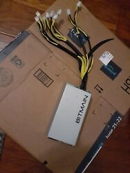 **TESTED** Antminer APW3 120 240v 1600W for S9 amp; S7 FREE USA SHIPPING amp; RET $134.99
