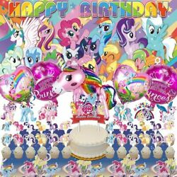 My Little Pony Party Supplies For Girls Decorations Birthday Banner Ba $49.97