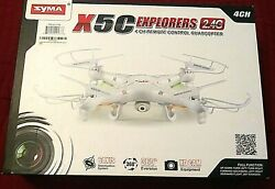 Syma X5c Explorers 2.4g 4ch 6 Axis Gyro RC Quadcopter With HD Camera $29.95